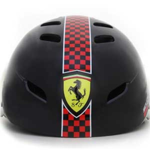 Ferrari Sports Helmet - Black