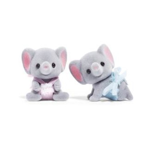 International Playthings Calico Critters Ellwoods Elephant Twins