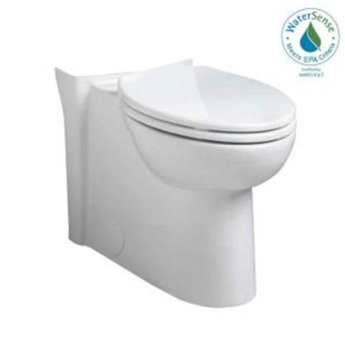 American Standard Cadet 3 FloWise Right-Height Elongated Toilet Bowl Only in White