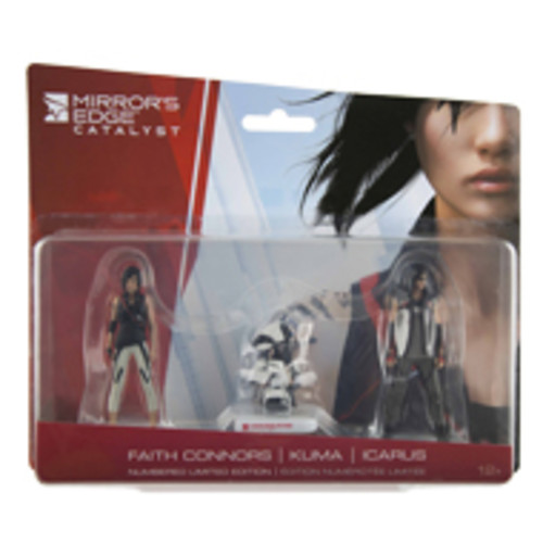 Mirror's Edge Catalyst Mini Figure 3 Pack