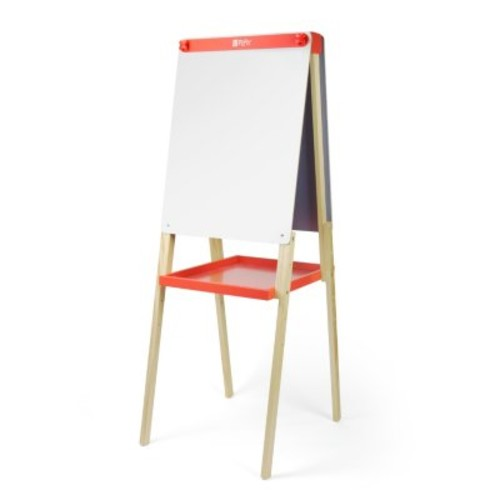 U Play Wooden Standing Double-Sided Art Easel