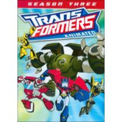 Transformers Animated: Season Three [2 Discs] [DVD]