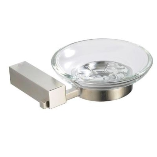 Fresca Ottimo Wall-Mounted Soap Dish in Brushed Nickel