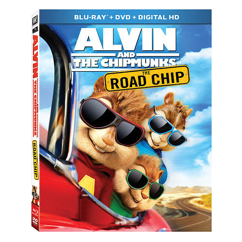 Alvin and the Chipmunks: The Road Chip Blu-Ray Combo Pack (Blu-Ray/DVD/Digital HD)