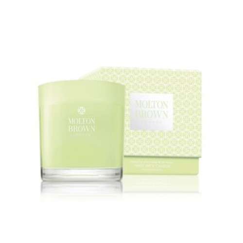 Dewy Lily of the Valley & Star Anise Three Wick Candle/16.9 oz.