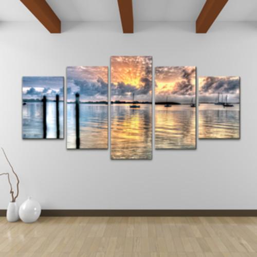 Mike Jones 'Storm Front' Canvas Art