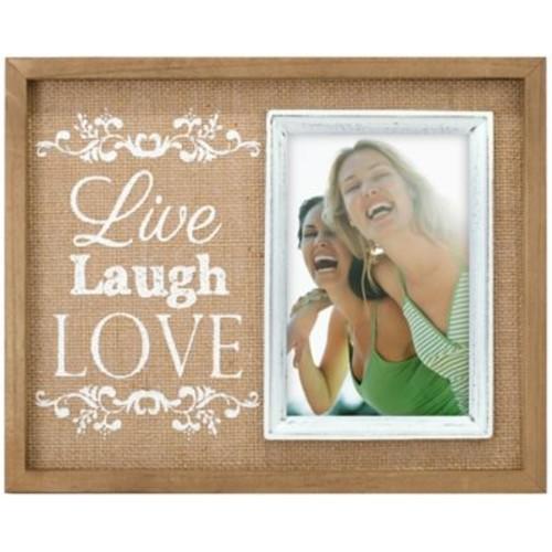 Malden Live, Laugh, Love Vertical Picture Frame