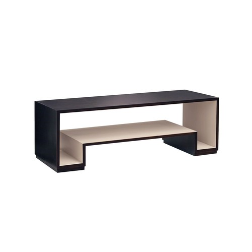 Holden Coffee Table in Espresso & Shell Grey design by Redford House