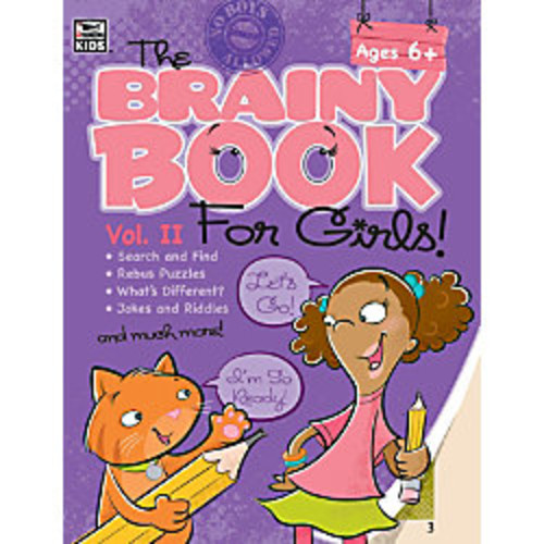 Thinking Kids Brainy Book For Girls Volume 2, Grades 1-4
