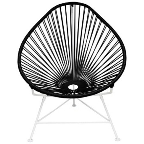 Acapulco Chair [Frame Finish : Black Finish; ||color : Black]
