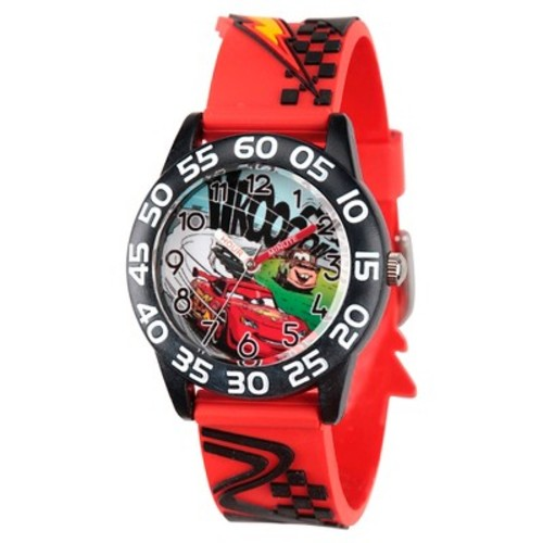 Kids Disney Cars Lightning McQueen Watches Red