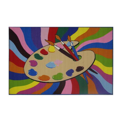 Fun Rugs Fun Time Painting Time Rug