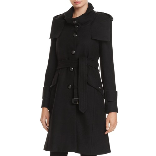 BURBERRY Claybrooke Single-Breasted Peacoat