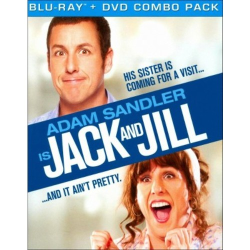 Jack and Jill [2 Discs] [Blu-ray/DVD] [Includes Digital Copy] [UltraViolet] WSE DHMA/DD5.1/DD2