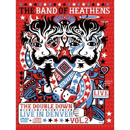 The Band of Heathens/The Double Down: Live in Denver Vol. 2 [DVD/CD] [CD & DVD]