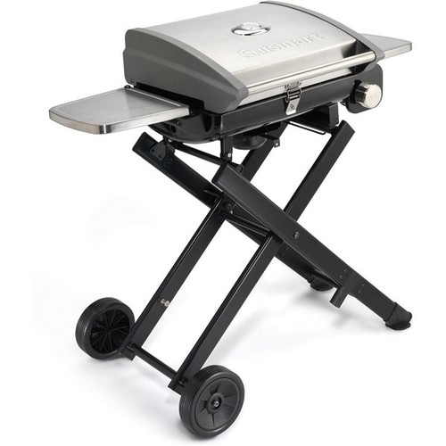 Cuisinart CGG-240 All Foods Roll-Away Gas Grill [Stainless Steel, With Stand]