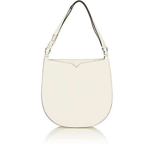 Valextra Weekend Large Leather Hobo Bag