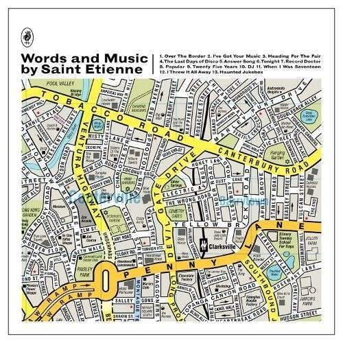 Words and Music by Saint Etienne [CD]
