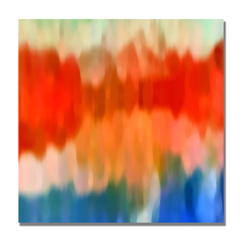 Trademark Global Amy Vangsgard 'Abstract Watercolor II' Canvas Art [Overall Dimensions : 18x18]