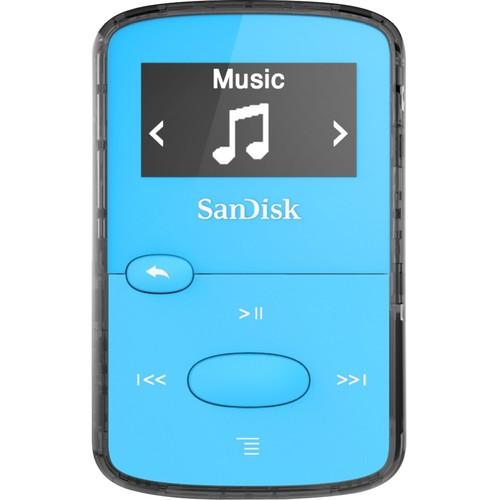 SanDisk SDMX26-008G-G46B 8 GB Flash MP3 Player - Blue