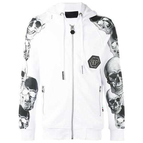 Philipp Plein Grey hoodie