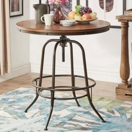 HomeSullivan Olson Brown Adjustable Pub/Bar Table