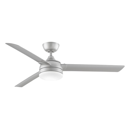 Xeno Outdoor Ceiling Fan [Finish : Brushed Nickel \/ Brushed Nickel Blades]