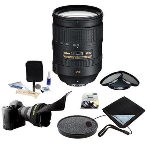 Nikon 28-300mm f/3.5-5.6G ED-IF AF-S NIKKOR VR Lens - Premium Bundle 2191 KB