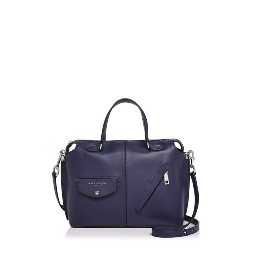 MARC JACOBS The Edge Bauletto Leather Satchel