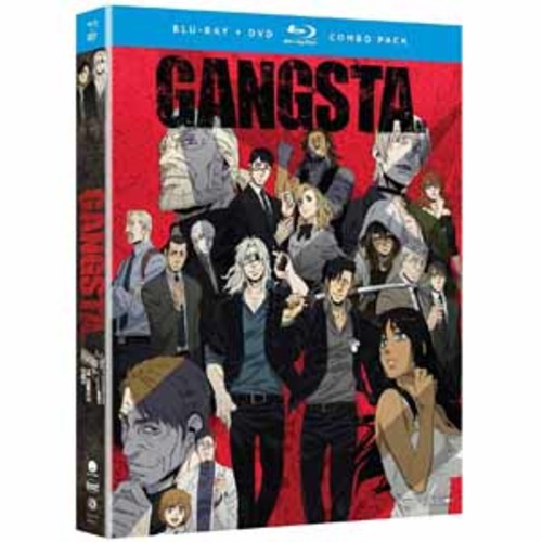 Gangsta.: The Complete Series [Blu-Ray] [DVD]