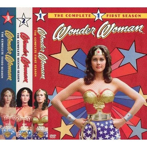 Wonder Woman: Complete Seasons 1-3 [12 Discs] [DVD]