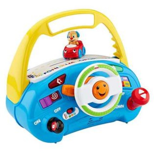 Fisher-Price Fisher Price Laugh & Learn Puppy's Smart Stages Driver Baby Toy
