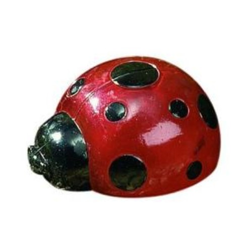 Smart Solar Red Ladybug 4-Light 20 ft. Integrated LED Solar Light Set (4-Piece)