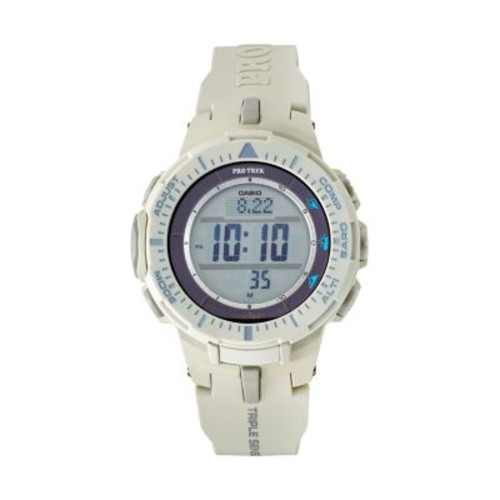 Casio Men's PRO TREK Triple Sensor Tough Solar Digital Watch