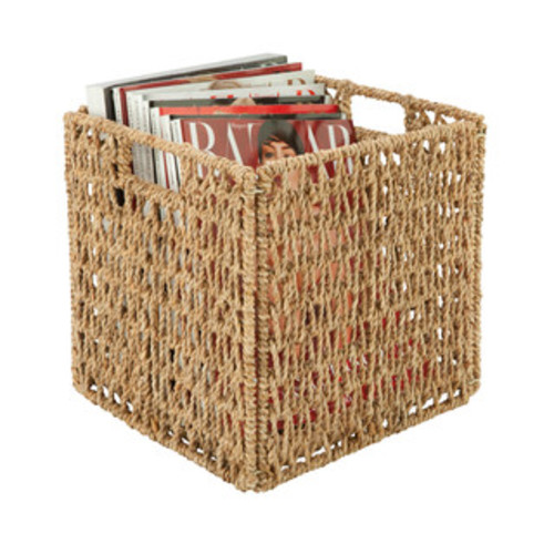 Honey Can Do Home Storage Woven seagrass basket