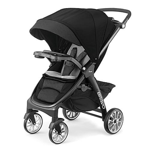 Chicco 2017 Bravo LE Stroller in Terazza Black/Grey