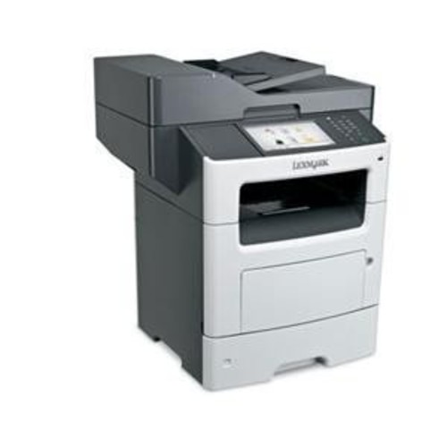 Lexmark 35S6702 MX611dhe - Multifunction printer - B/W - laser - Legal (8.5 in x 14 in) (original) - Legal (216 x 356 mm), A4 (210 x 297 mm) (media) - up to 50 ppm (copying) - up to 50 ppm (printing) - 650 sheets - 33.6 Kbps - USB 2.0, Gigabit LAN, USB host