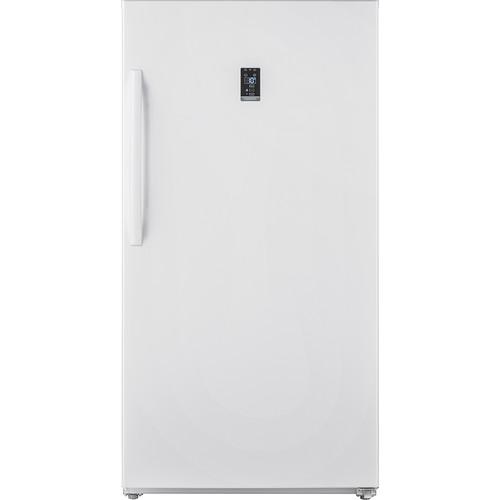 Insignia - 17.02 Cu. Ft. Upright Wi-Fi Convertible Freezer/Refrigerator - White