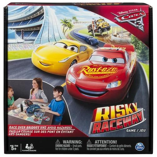 Disney Pixar Cars 3 Risky Raceway Board Game