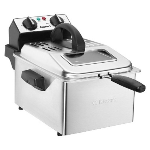 Cuisinart CDF-200 Deep Fryer, 4 quart, Stainless Steel [Cuisinart Deep Fryer]