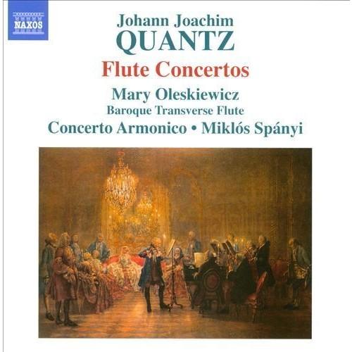 Johann Joachim Quantz: Flute Concertos [CD]