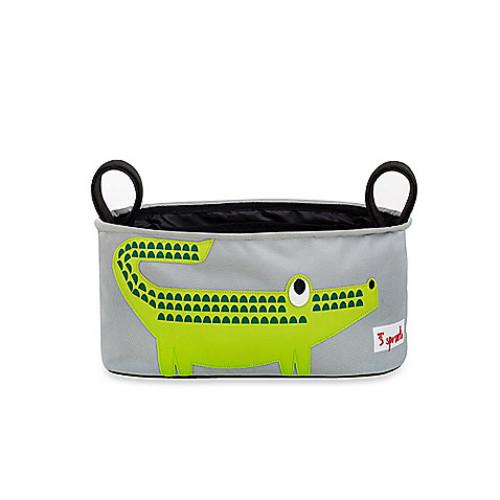 3 Sprouts Stroller Organizer in Crocodile