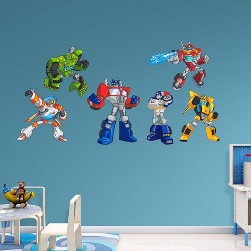 Fathead Transformers Rescue Bots Wall Decal Collection