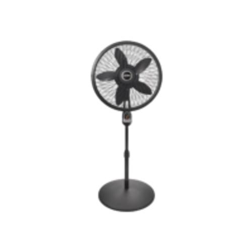 Lasko Products 1843 Remote Control Cyclone Pedestal Fan, Black, 18