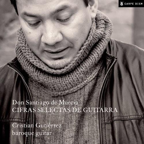 Santiago de Murcia: Cifras selectas de guitarra