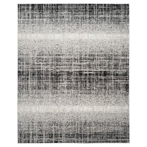 Safavieh Adirondack Silver/Black 5 ft. 1 in. x 7 ft. 6 in. Area Rug