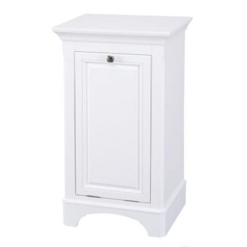 Home Decorators Collection Moorpark 19 in. W x 34 in. H Hamper in White