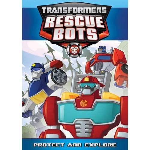 Transformers: Rescue Bots - Protect And Explore [DVD]