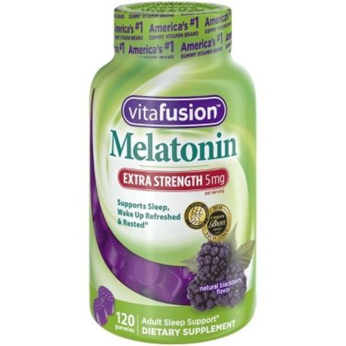 Vitafusion Extra Strength Melatonin Dietary Supplement Adult Gummies - 120ct