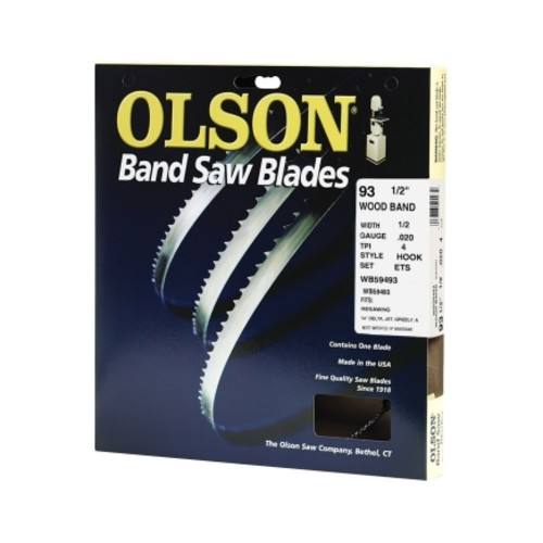 Olson 93-1/2 in. L x 1/2 in. W Band Saw Blade(WB59493DB)